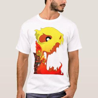 Camiseta Caudilho esqueletal - Chibi - ataque 1 #3