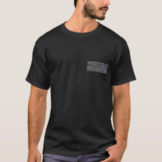Camiseta Causa de morte - Electrocução-Volts judiciais 2000