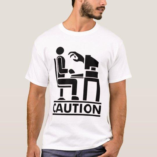 Camiseta Caution Monsters in PC