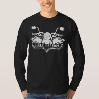 Camiseta Cavaleiro da motocicleta do vovô do motociclista