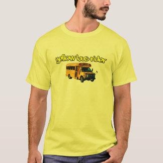 Camiseta Cavaleiro de ônibus amarelo