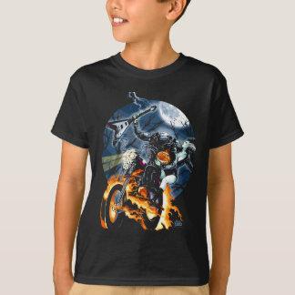 Camiseta Cavaleiro decapitado do motociclista