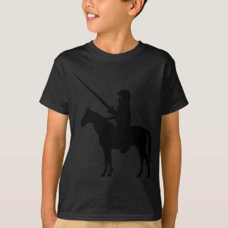 Camiseta cavaleiro preto