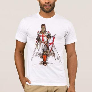 Camiseta cavaleiros do cruzado do tshirt medieval de