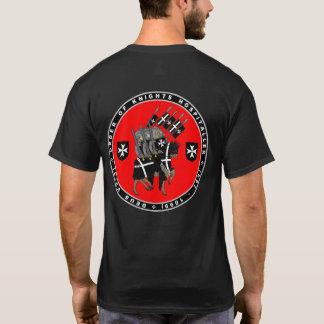 Camiseta Cavaleiros Hospitaller que marcha para lutar a