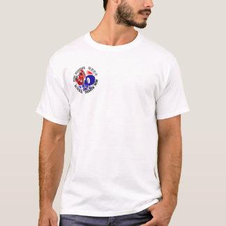 Camiseta Cavaleiros T branco de ROK