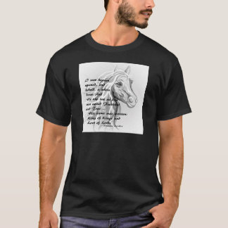Camiseta Cavalo branco de um rei