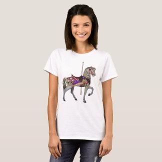 Camiseta Cavalo branco do carrossel