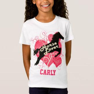 Camiseta Cavalo Carly personalizado amante