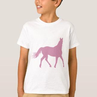 Camiseta Cavalo cor-de-rosa