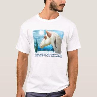 Camiseta Cavalo da pintura do chapéu da medicina