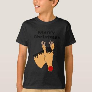 Camiseta Cavalo da rena do Natal