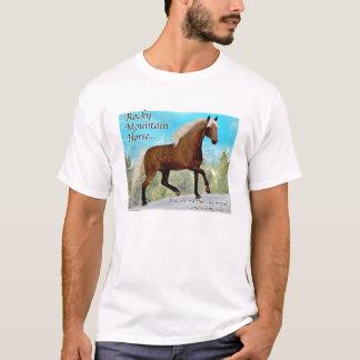 Camiseta Cavalo de Gaited da montanha rochosa