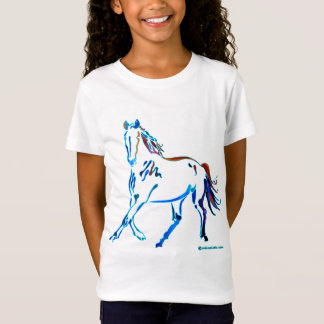 Camiseta Cavalo de muitas cores