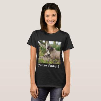 Camiseta Cavalo de riso