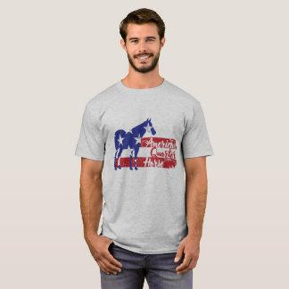 Camiseta Cavalo de um quarto americano