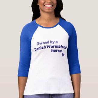 Camiseta Cavalo de Warmblood do dinamarquês