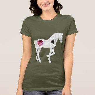 Camiseta Cavalo do maquinismo de relojoaria