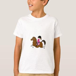 Camiseta Cavalo e acessório personalizados do adestramento