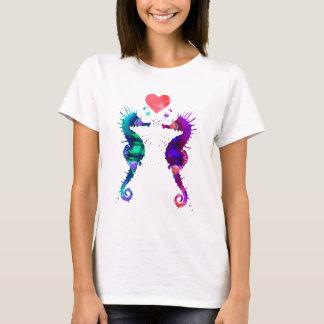 Camiseta Cavalo marinho, cavalo marinho no amor