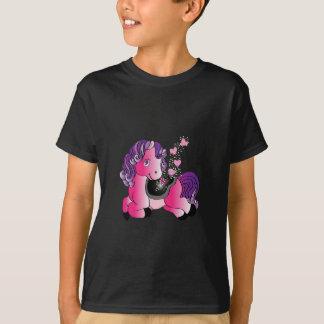 Camiseta Cavalo pequeno feliz