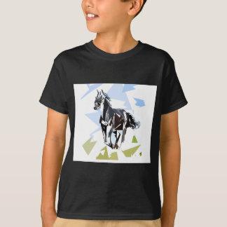 Camiseta Cavalo preto