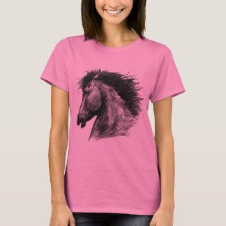 Camiseta Cavalo selvagem impetuoso