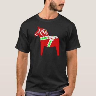 Camiseta Cavalo vermelho de Dalarna