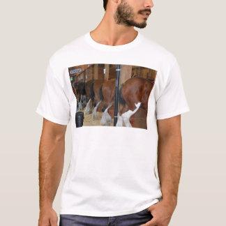 Camiseta Cavalos de Clydesdale