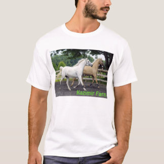 Camiseta Cavalos sincronizados