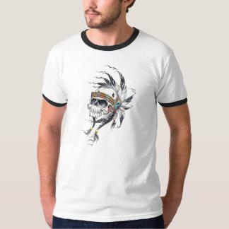 """Camiseta """"Caveira indígena"""""""