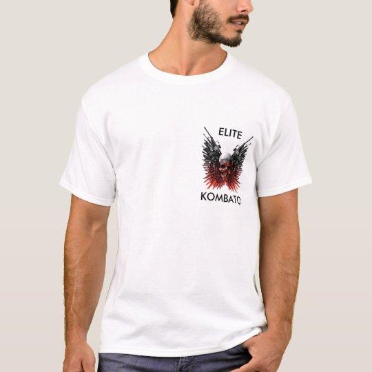 Camiseta caveira logo, KOMBATO, ELITE