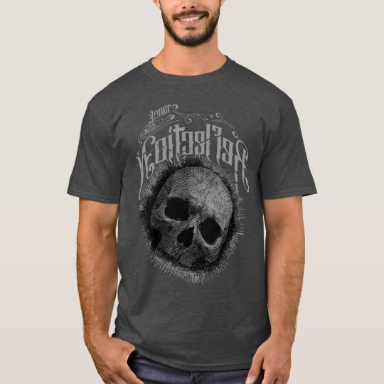 Camiseta Caveira Rabiscada