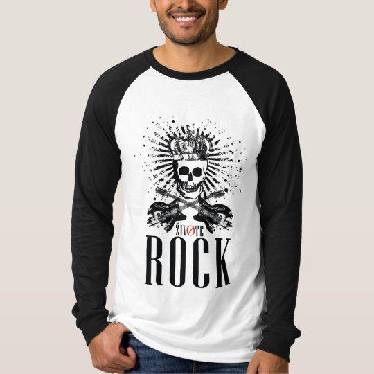 Camiseta Caveira X Guitarras