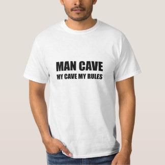Camiseta Caverna do homem minhas regras