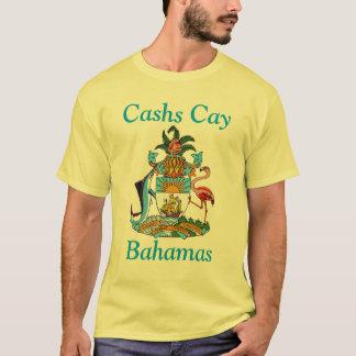 Camiseta Cay de Cashs, Bahamas com brasão