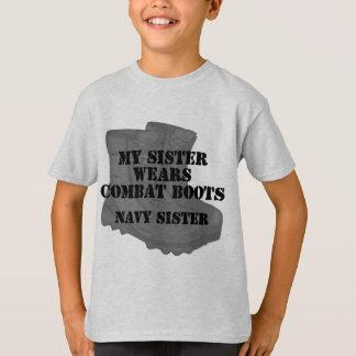 Camiseta CB da irmã do marinho