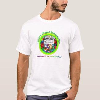 Camiseta CCBay caçoa o logotipo