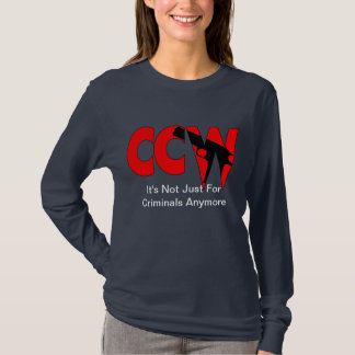 Camiseta CCW não é apenas para criminosos Anymore