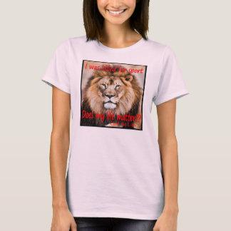 Camiseta Cecil o leão - eu fui matado para o esporte