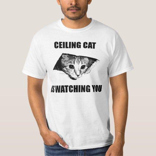 Camiseta Ceiling cat watches