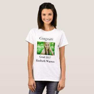 Camiseta Celebração da foto do formando