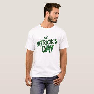 Camiseta Céltico verde do irlandês do trevo do Dia de São