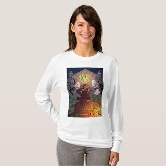 Camiseta Cemitério da assombração do Ceifador & dos