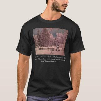 Camiseta Cemitério de Edgar Allan Poe