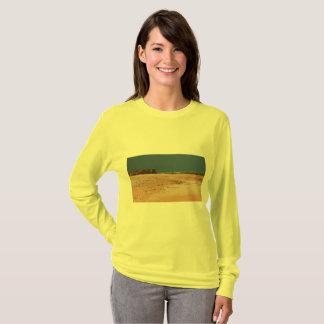 Camiseta Cena australiana da praia do interior