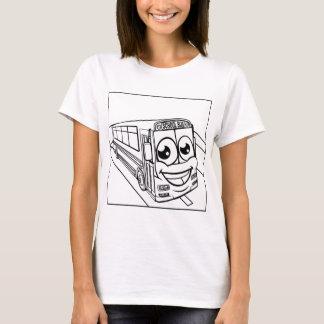 Camiseta Cena da mascote do personagem de desenho animado