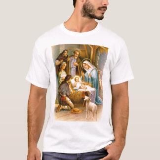 Camiseta Cena da natividade do vintage