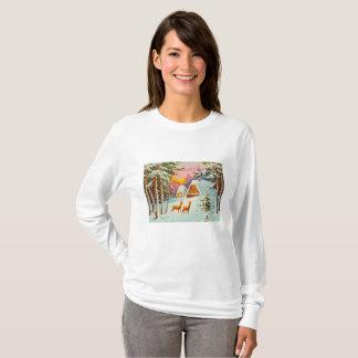 Camiseta Cena da neve