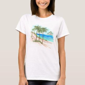 Camiseta Cena da praia